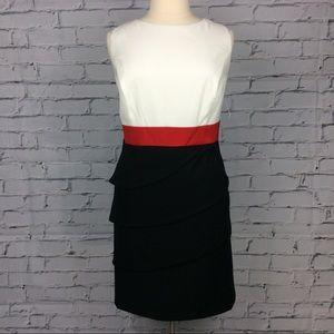 Colorblock Sheath Dress, Size 18W